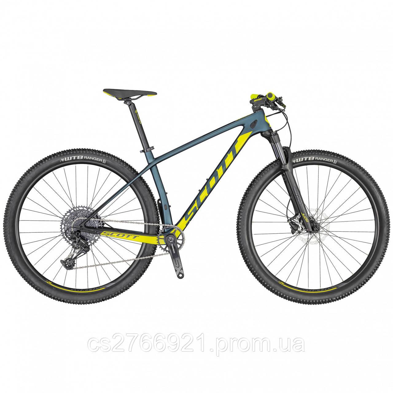 Велосипед SCALE 940 cobalt/жёлтый 20 SCOTT