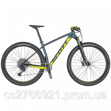 Велосипед SCALE 940 cobalt/жёлтый 20 SCOTT, фото 2