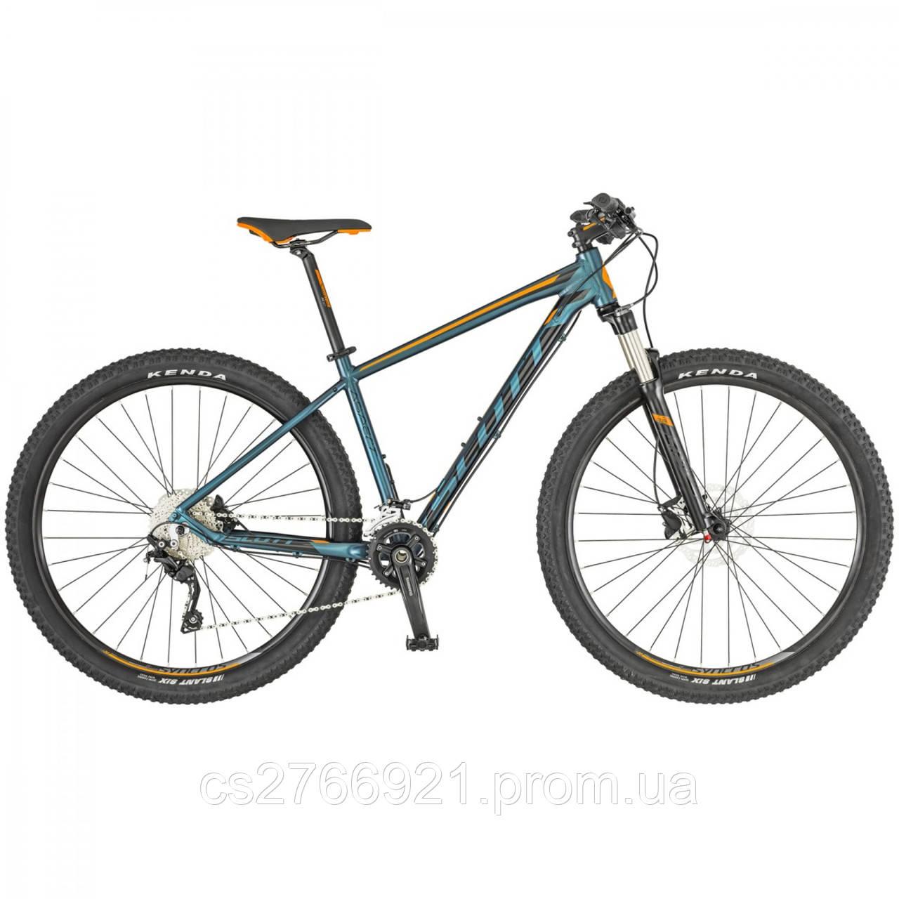 Велосипед SCOTT Aspect 920 зелёно/оранжевый (CN) 19