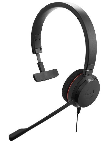 Проводная аудио гарнитура Jabra EVOLVE 20 MS Mono (USB)