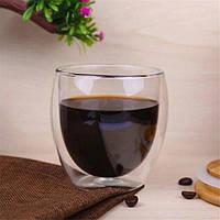 Стакан для кофе с двойными стенками Helios 100 мл (6745)