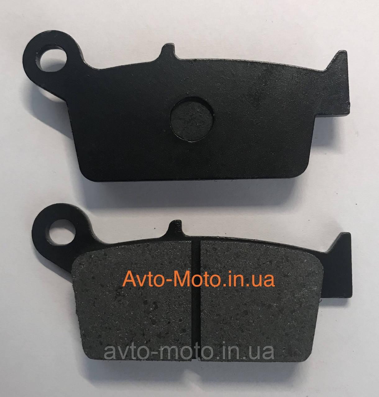 Колодки переднього дискового гальма GY6 50-150
