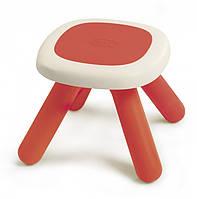 Стульчик без спинки детский SMOBY TOYS,  красный, 18мес.+, 880203