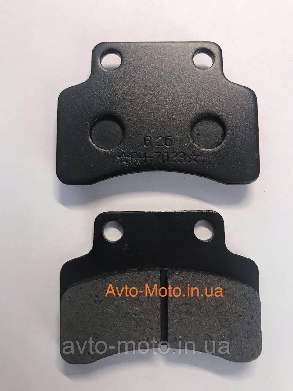 Колодки дискового переднего тормоза GY6 50-150