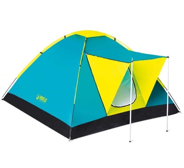 Кемпинговая Трехместная палатка с навесом Pavillo Bestway 68088 «Cool Ground 3»