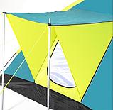 Кемпинговая Трехместная палатка с навесом Pavillo Bestway 68088 «Cool Ground 3», фото 3