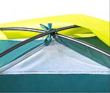 Кемпинговая Трехместная палатка с навесом Pavillo Bestway 68088 «Cool Ground 3», фото 4