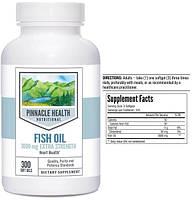 PH, Рыбий жир, Омега-3, 1000 мг, 300 капсул