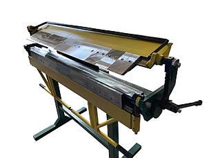 Сегментный листогибочный станок СЛ 1400 PsTech | Листогиб ручной сегментный, фото 2
