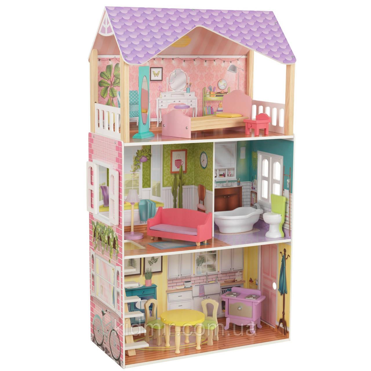 Ляльковий будинок з меблями Поппі Poppy KidKraft 65959