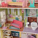 Ляльковий будинок з меблями Поппі Poppy KidKraft 65959, фото 6