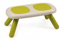 Скамейка без спинки детская SMOBY TOYS  салатовая , 18мес.+,  880301