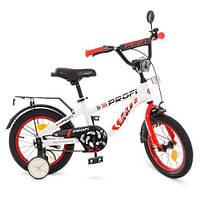 Велосипед дитячий 14Д Profi Space T14154 біло-червоний