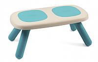 Скамейка без спинки детская SMOBY TOYS  голубая , 18мес.+,  880302