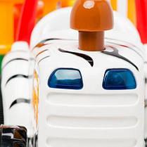 Игровой набор - ТРАКТОР САФАРИ на колесах свет озвуч. рус. яз.  Kiddieland 051169, фото 2