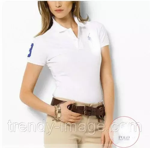 RALPH LAUREN POLO жіноча футболка поло ральф лорен