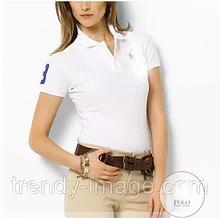 В стиле Ральф поло женская футболка поло ральф