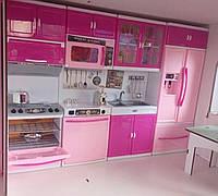 Мебель для  домиков  кукол барби и других  высота 32см (плита, холодильник, мойка, шкафы)