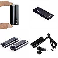 Мини диктофон цифровой Savetek 600 8 Гб + VOX с активацией голосом Черный