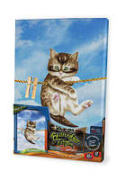 Набор для творчества  Вышивка гладью по номерам: Котик