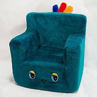 Детское кресло Kronos Toys Бирюзовое