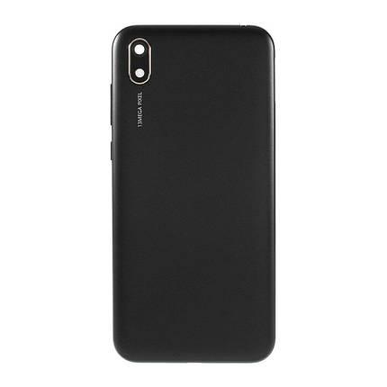 Задня кришка Huawei Y5 2019 (AMN-LX9, AMN-LX1, AMN-LX2, AMN-LX30) чорний, Modern Black, фото 2