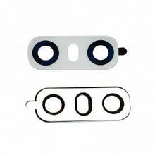 Стекло камеры LG H870 G6, H871, H872, H873, LS993, US997, VS998 белое