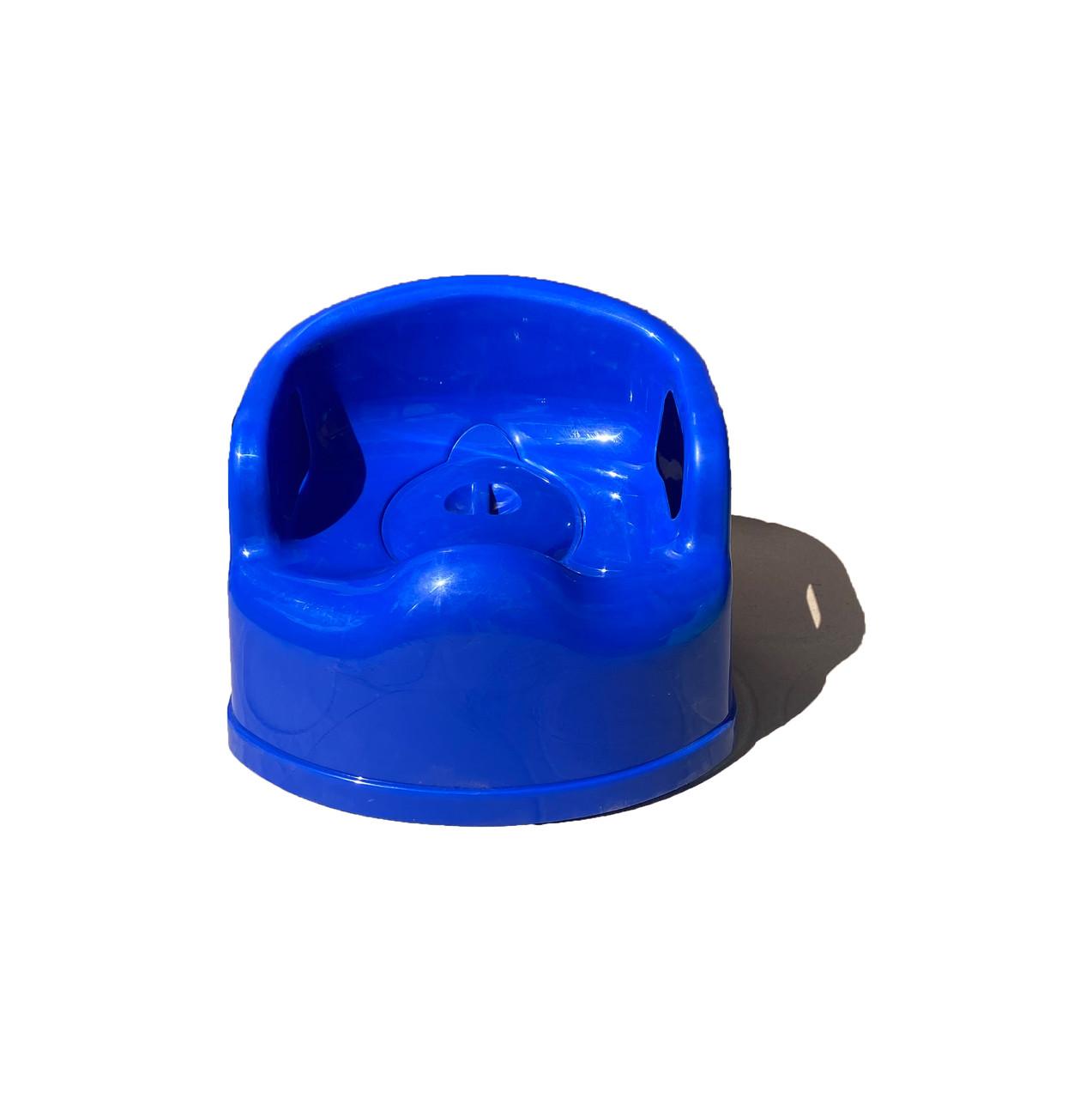 Горшок детский пластиковый с крышкой SL Люкс, Синий Консенсус