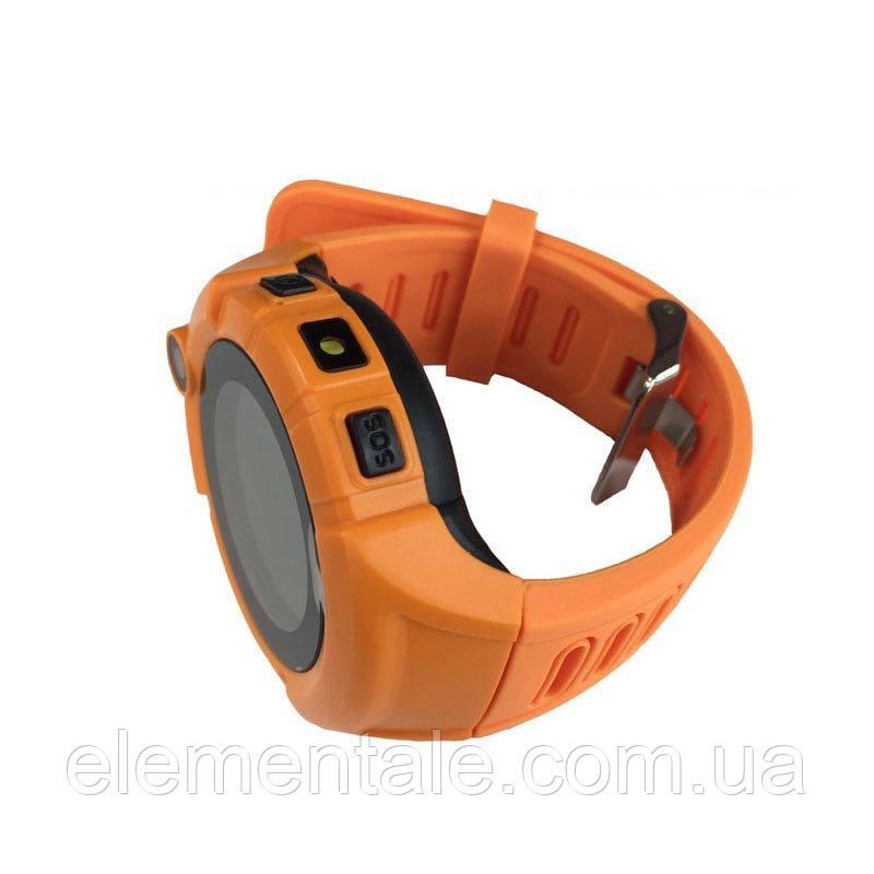 Детские умные GPS часы Q360 Orange