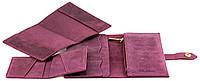 Подарочный комплект Valenta 3 в 1 Бордовый