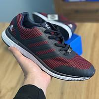 Кросівки Чоловічі Adidas Bounce Червона Сітка (44-46)
