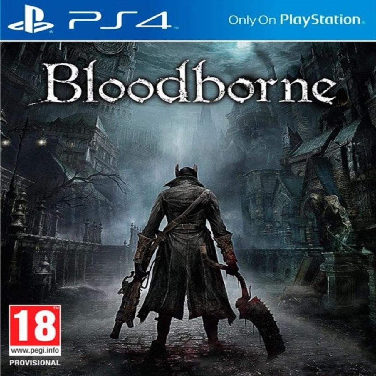 Bloodborne (англійська версія) PS4