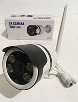 Камера відеоспостереження вулична 2 в 1 CAMERA CAD 7010 WIFI ip БЕЛАЯ