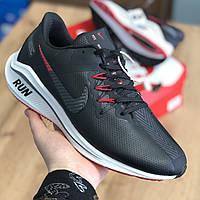 Кросівки Чоловічі Nike running Чорно Червоний (41-45)