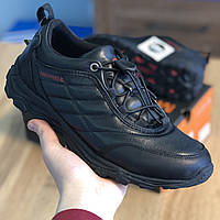 Кросівки Чоловічі Merrell Чорна Шкіра (40-45)