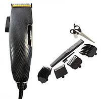 Машинка для стрижки с насадками Gemei GM-806 Черный