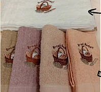 Полотенце кухонное махровое размер 35*75 см (от 20 шт)