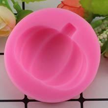 """Молд силиконовый """"Тыква"""" - диаметр молда 6см, силикон пищевой"""
