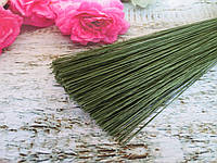 Флористическая проволока в бумажной оплетке, 0,5 мм 60 см, 50 шт/уп,