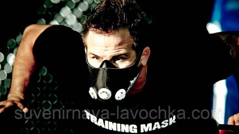 Маска респиратор для бега elevation training mask