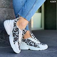 Черно-белые кроссовки, фото 1