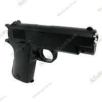 Детский металлический пневматический пистолет ZM22, фото 1