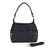 Женская сумка через плечо черная Sorella