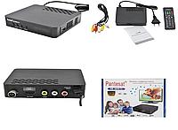 Цифровой эфирный тюнер Pantesat HD-3820 Т2 с экраном Черный