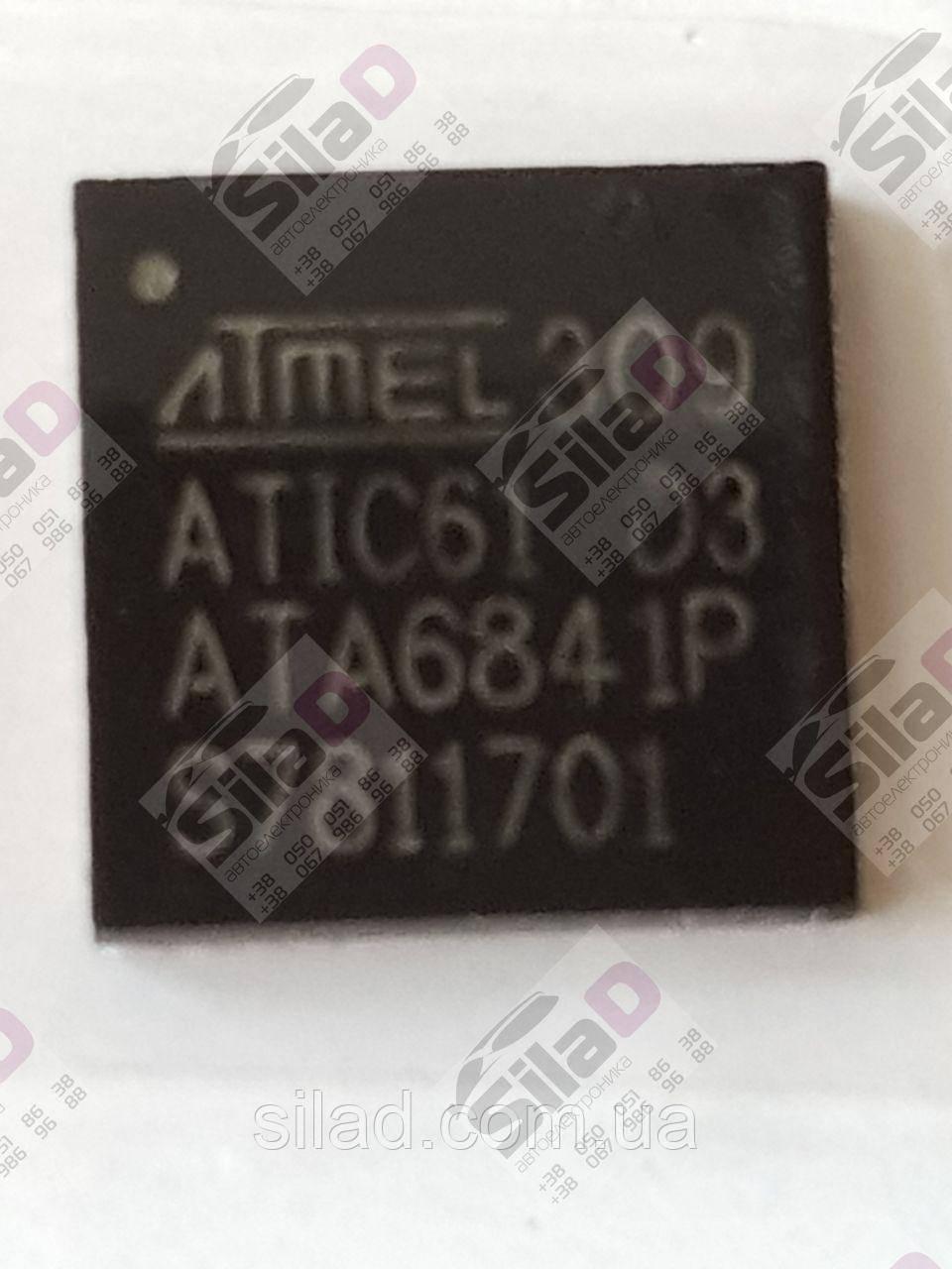 Микросхема ATIC61 D3 ATA6841P ATMEL корпус QFN48