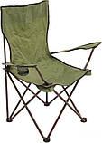 Стілець туристичний розкладний крісло доладне + чохол, фото 3