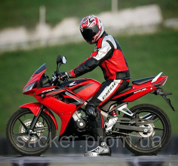 Набор наклеек Honda CBR 125R  2007-2009, наклейки на мотоцикл.