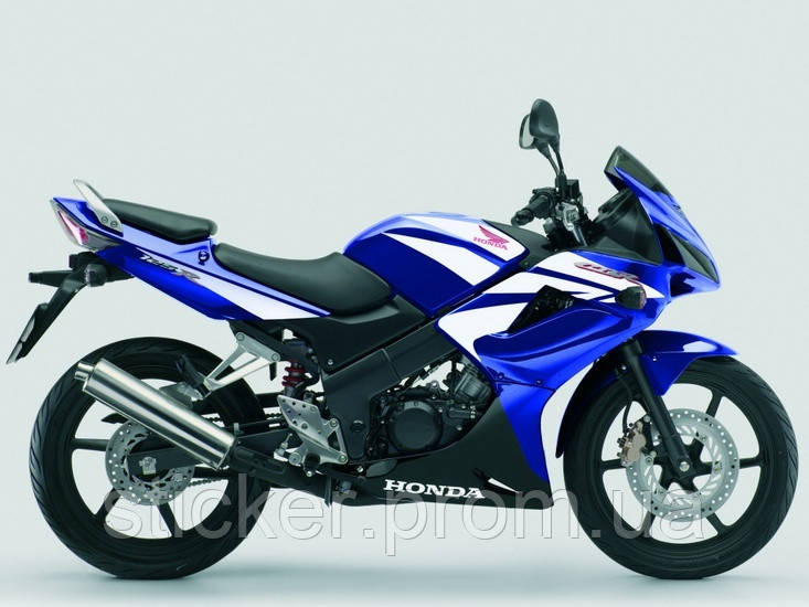 Набор наклеек Honda CBR 125R  2007-2009, наклейки на мотоцикл