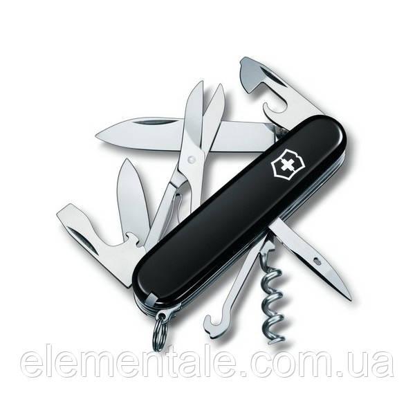 Швейцарский нож Victorinox Climber Черный
