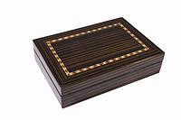 Две колоды карт Duke в деревянной коробке